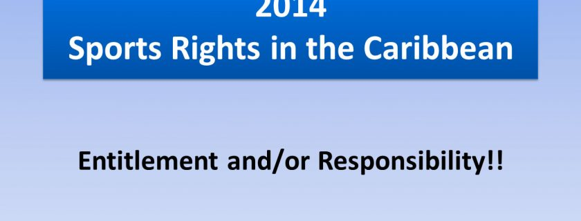 2014 Sports Rights in the Caribbean