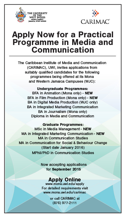 Carimac Programmes - Calling for Applicants