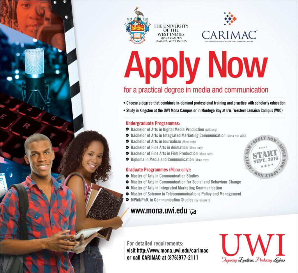 CARIMAC Programmes 2016